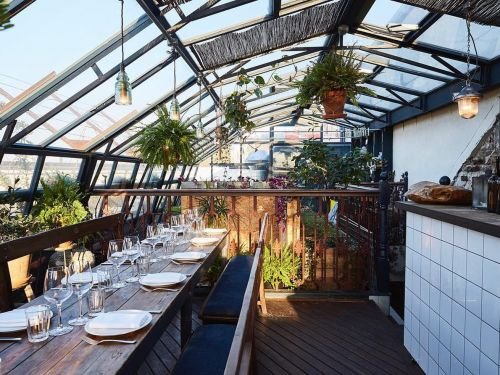 Where to Eat and Drink on a Roof in London