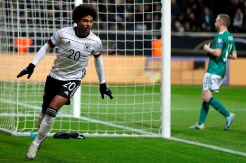 Serge Gnabry scores hat-trick as Northern Ireland crash to Germany loss in final Euro 2020 qualifier