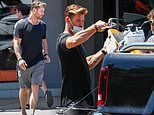 Chris Hemsworth spotted picking up a new 'toy' for his daughter India Rose