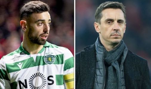 Gary Neville expects Man Utd to make another signing after Bruno Fernandes announcement