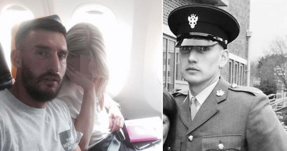 Royal Marine told steward she was a 'tart in Primark shoes' in drunk Ibiza airport rant