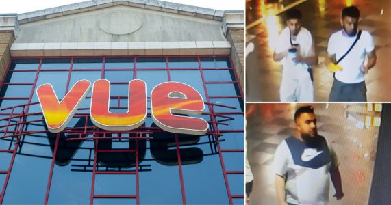 Four men 'attacked cinema worker after being caught sneaking into VIP seats'