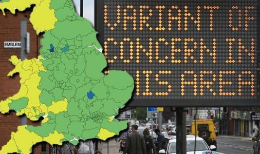 Covid hotspots MAPPED: 104 areas where cases are rising amid fears of new local lockdowns