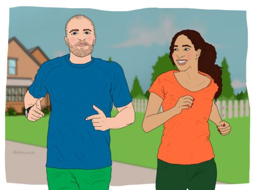 Why going running with your partner could strengthen your relationship