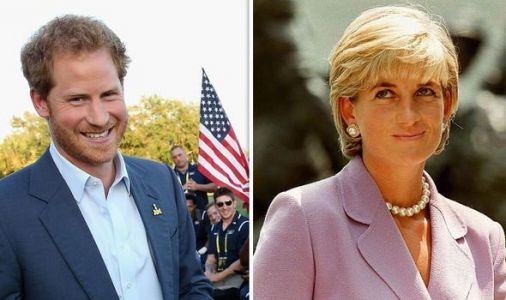 Why Princess Diana always suspected Harry would move to US - but for very different reason