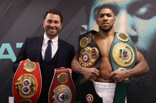 Eddie Hearn considering more than six venues for Anthony Joshua vs Tyson Fury