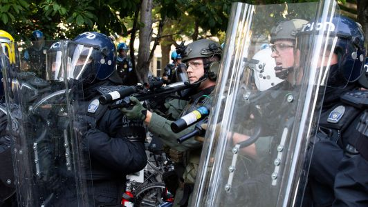 George Floyd protests: how dangerous are US riot-control weapons?