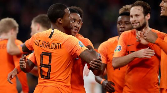 Wijnaldum double sees Netherlands past Belarus