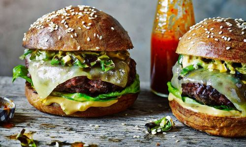 Celebrate National Burger Day with this chilli cheeseburger recipe - perfect for your summer BBQ!