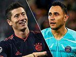 Champions League team of the group stage: Robert Lewandowski and Keylor Navas make the cut