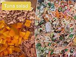 Foodie reveals his simple salad that lasts perfectly in the fridge for FOUR days - ready to go