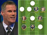 Jamie Carragher names his Premier League team of the season. but two big Liverpool stars miss out!