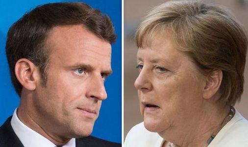 Merkel and Macron suffer humiliating blow at EU summit as their plans thrown into chaos