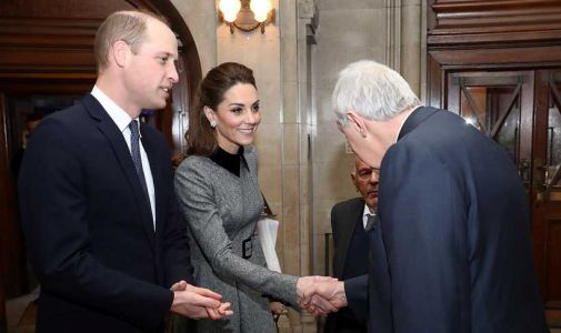 Prince William and Kate Middleton honour survivors at UK Holocaust Memorial Day service - all the photos