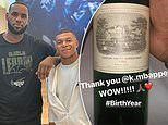 Mbappe and LeBron link up as PSG and France star enjoys summer break in America