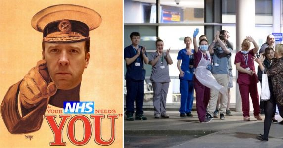 NHS gets boost of 38,000 extra staff to fight coronavirus