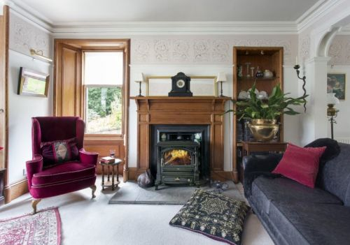 Victorian grandeur and modern conveniences come together beautifully in this Strathpeffer home