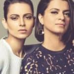 Rangoli Chandel backs sister Kangana Ranaut against media