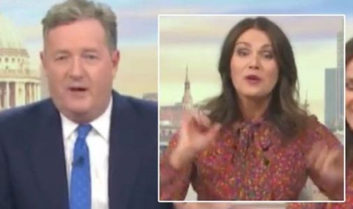Piers Morgan leaves Susanna Reid red-faced as he suggests naked photo: 'Embarrassment'