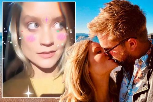 Love Island host Laura Whitmore reunites at last with Iain Stirling in South Africa