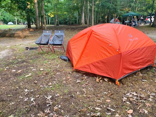 I used Arrive Outdoors to rent all the camping gear I needed for a weekend trip - here's how it works and why I'll gladly use the service again