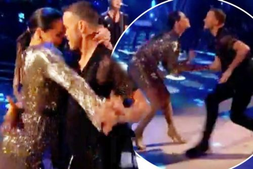 Strictly fans left baffled by Kevin Clifton and Katya Jones' steamy dance routine together