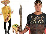 Dale Moss models Halloween costumes for Party City before joining season 16 of The Bachelorette