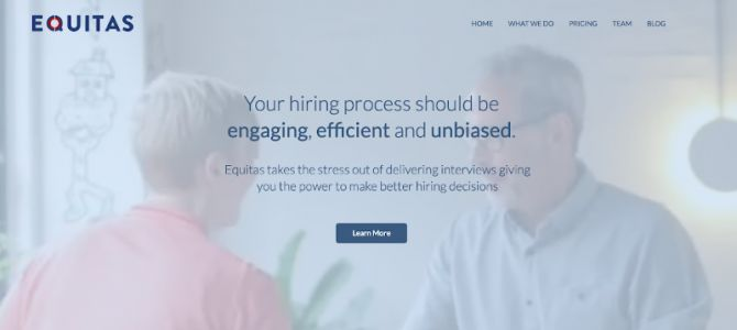 Equitas' interview app helps HR departments make better hiring decisions