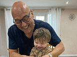 'He loves his food!' Gregg Wallace, 55, says baby son Sid takes after him
