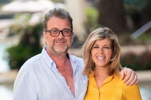 Kate Garraway says her husband Derek Draper has opened his eyes