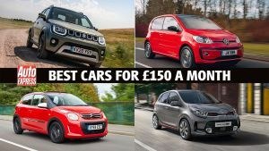 Best new cars for under £150 a month