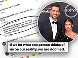 Danica Patrick slams sexist troll for ridiculing her recent spilt from Aaron Rodgers
