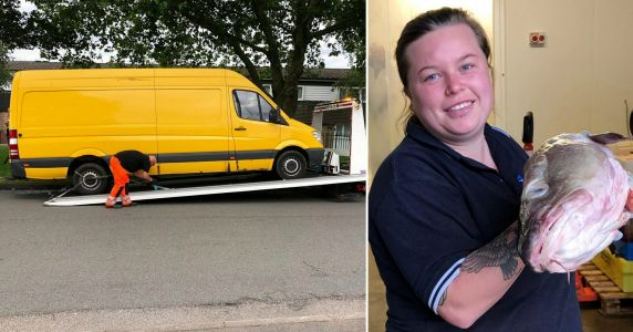 Police break into fishmonger's van thinking smell was a dead body