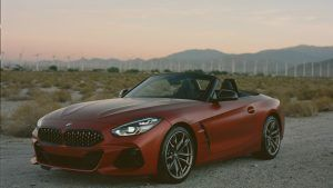 The BMW Z4 strikes the perfect balance between fun and style