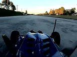 Impressive footage shows moment an electric remote-controlled car hits 122 miles per hour