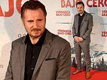 Liam Neeson attends Cold Pursuit premiere in Madrid