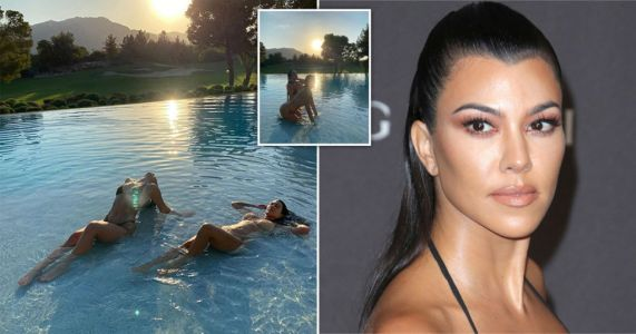 Kourtney Kardashian hits back at fan who are 'weirded out' by her friendship with Addison Rae