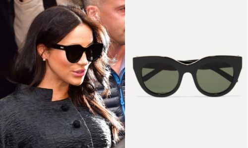 Meghan Markle's £45 sunglasses are back in stock - adds to basket immediately