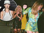 Gigi Hadid posts glam behind-the-scenes shots of Donatella Versace's Milan Fashion Week afterparty