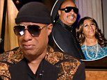 Stevie Wonder tears up speaking about Aretha Franklin visit