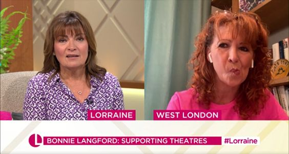 Lorraine Kelly Digs Herself A Hole With Awkward Cats Film Comment During Bonnie Langford Interview