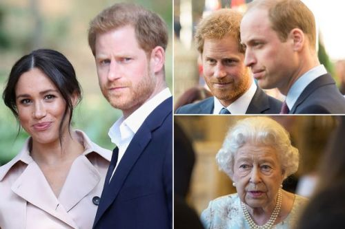 Queen and other royals 'horrified' and 'worried' about Meghan Markle and Harry after TV show