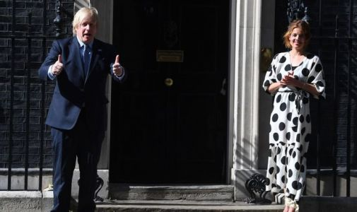 'Clap for the NHS': Boris Johnson joins nationwide applause on health service's birthday