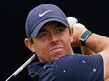 McIlroy's hopes in tatters after finishing with a 73 to trail the leader Richard Bland by six shots