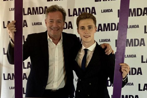 Piers Morgan forced to defend son following backlash for attending BLM protests