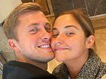 Jacqueline Jossa cosies up to husband Dan Osborne as she goes make-up free for a day out in Belfast