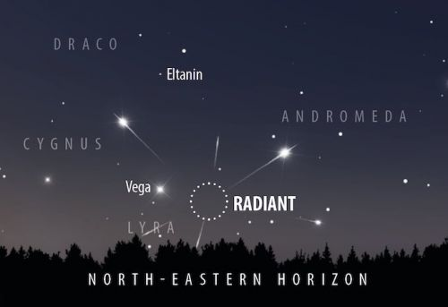 Beginners' astronomy: how to see the Lyrid meteor shower