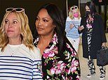 Real Housewives of Beverly Hills stars Garcelle Beauvais and Sutton Stracke look chic in Miami