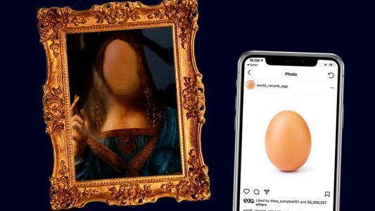 These Instagram posts as famous paintings are frankly ludicrous