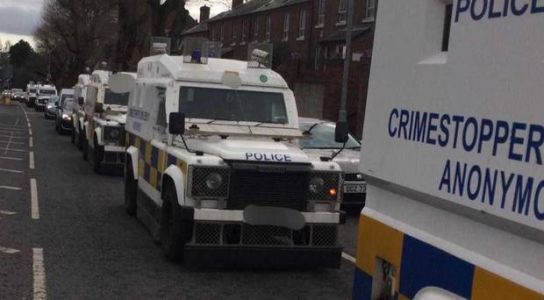 Two arrested after drugs found during police searches in Belfast